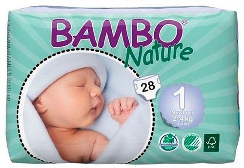 Pieluchy Bambo Nature