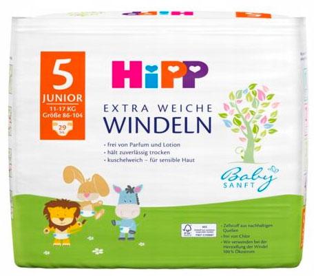 Pieluchy HIPP Babysanft Extra Soft
